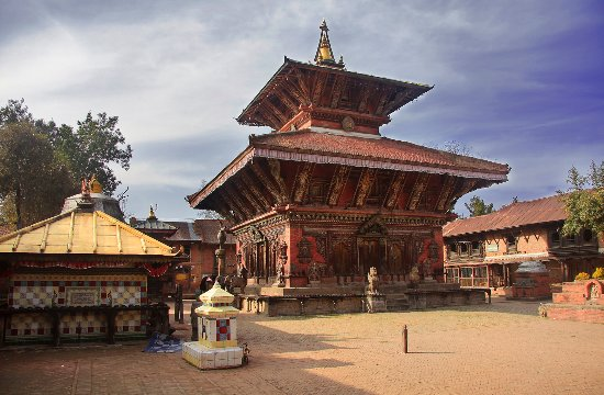 Kathmandu, Nepal: Changu Narayan, the oldest temple in Nepal