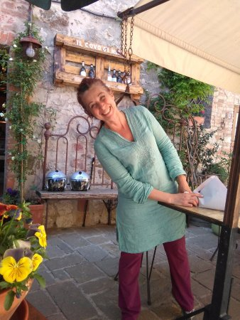 San Gusme, Italien: Nina
