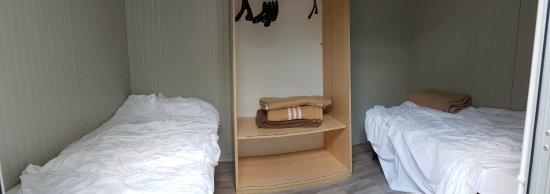 Malcontenta, Włochy: Vårt två-manna-rum på 6 kvadratmeter