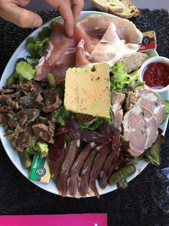 Limeuil, France: Salad