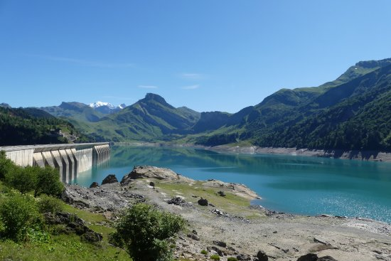 Areches, Fransa: le barrage...