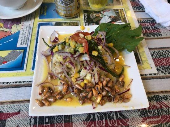 Arco Iris, Gotanda: Ceviche Mixto