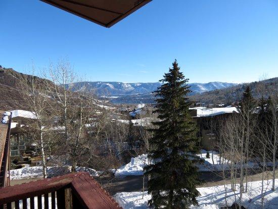 Snowmass Village, Colorado: Aussicht vom offenen Flur vor dem Zimmer
