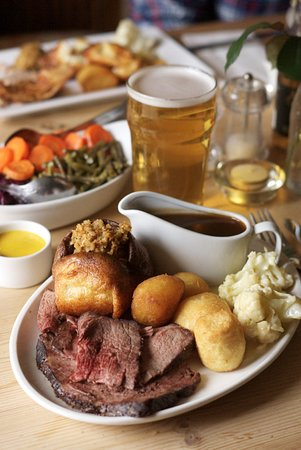 Hope, UK: Roast beef