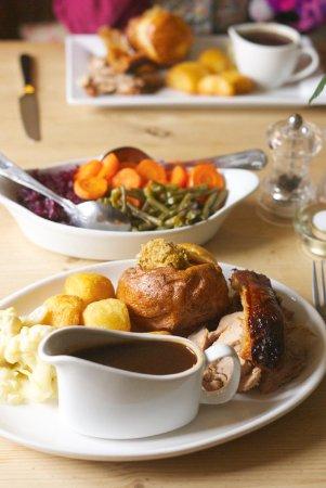 Hope, UK: Roast pork