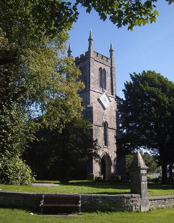 Milnthorpe, UK: St Thomas' Church - where the Exhibition is displayed (Photo from Wikipedia)
