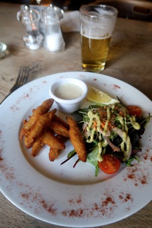 Hope, UK: Whitebait starter