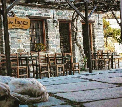 Agios Lavrentios, Greece: perfect view of San Lorenzo