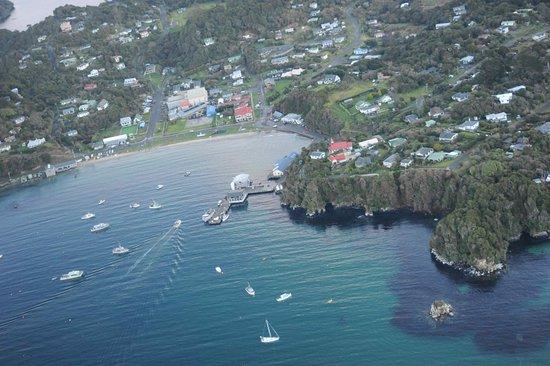Stewart Island, New Zealand: Overview of Oban CBD