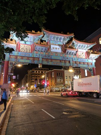 Chinatown Archway : Chinatown Arch from H Street