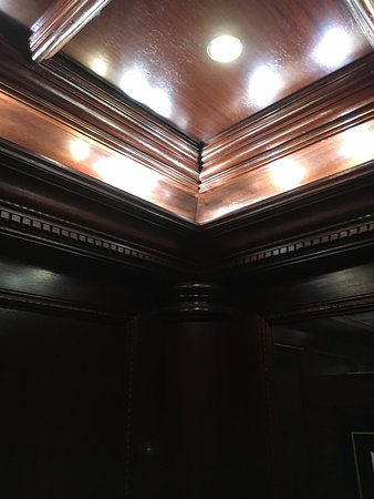 Radisson Hotel Cincinnati Riverfront: Look At The Woodwork In The  Elevators! Love This Place