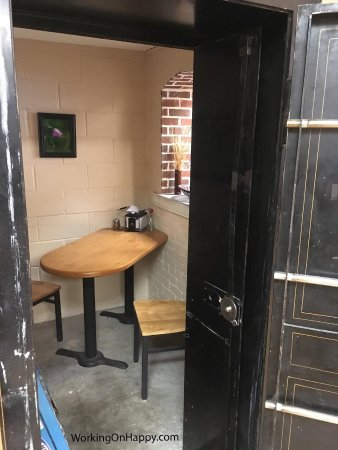 Ashton, ID: This is the view of the pizza safe from through the doorway.