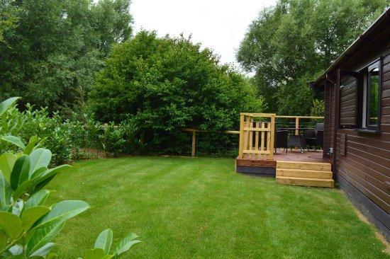 Dilton Marsh, UK: Lodge Garden with Terrace