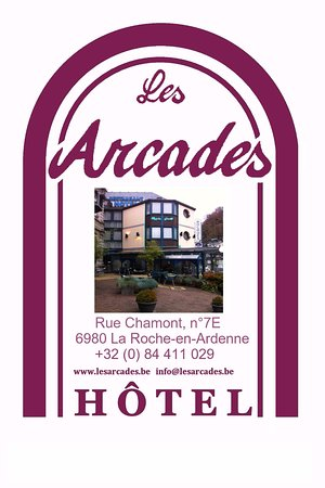 La Roche-en-Ardenne, Belgien: Logo de l'Hôtel Les Arcades