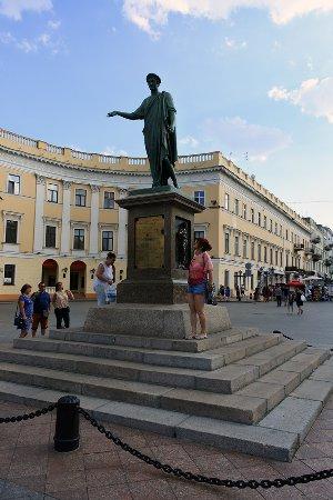 Duke de Richelieu monument: Duke de Richelieu.
