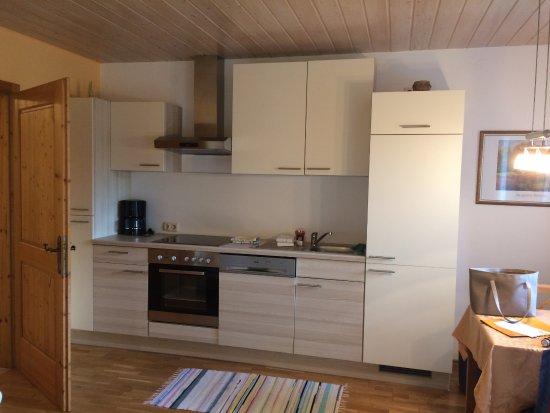 Nussdorf am Attersee, Austria: Kuchyň