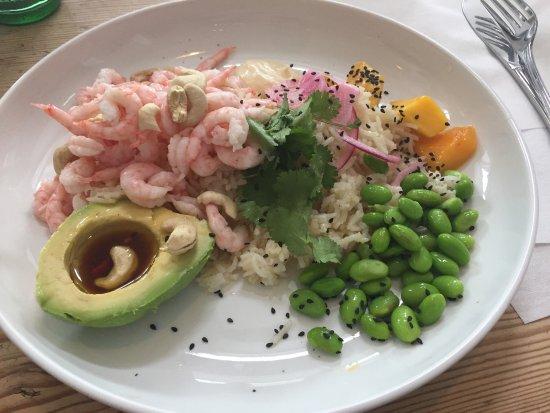 Skanor, Suecia: God lunch och trevlig atmosfär