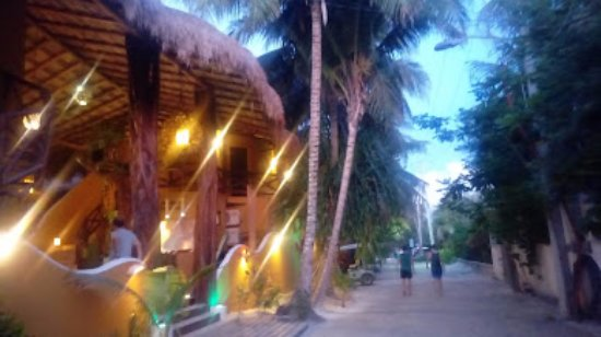Holbox Dream Beach Front Hotel by Xperience Hotels: la entrada