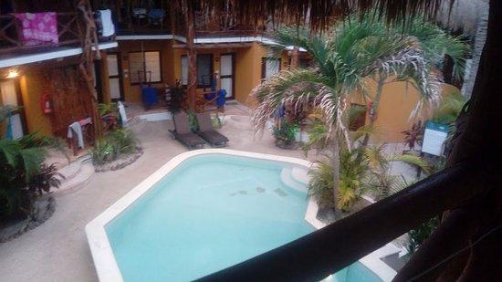 Holbox Dream Beach Front Hotel by Xperience Hotels : vista desde la habitación