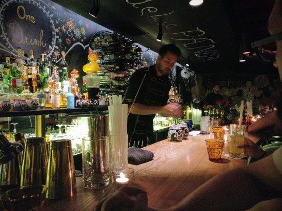 Брно, Чехия: Super Panda Circus Barman