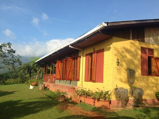 Pichinde, Colombia: The lodging - room for 8-10 people - in the Kantu reserve.