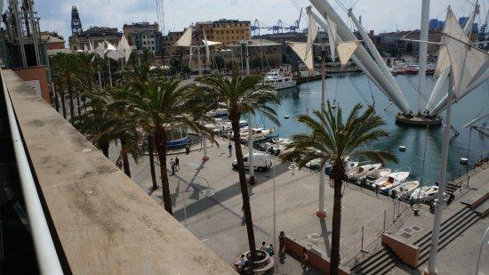 Eataly Genova: Панорамный вид на порт