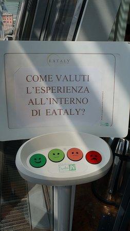 Eataly Genova: Качество обслуживания