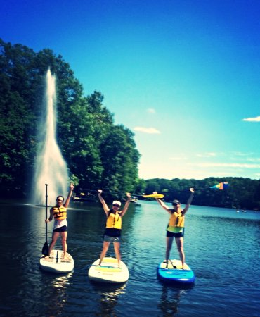 Surf Reston instructors are on the water to take photos of your fun experience!