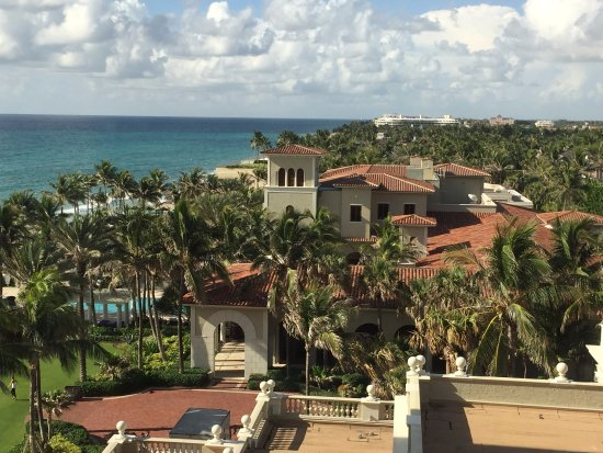 The Breakers: The view looking south from my hotel room - beautiful!!