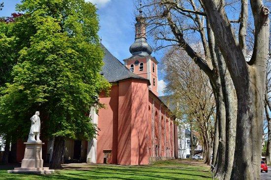 Bad Kreuznach, Duitsland: Pauluskirche von außen