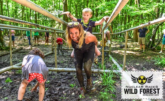 Brentwood, UK: Wild Forest Obstacle Activity Centre
