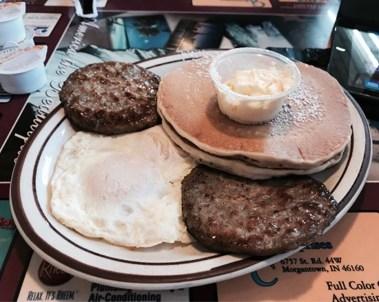 Crawfordsville, IN: 2 X 2 X 2 breakfast