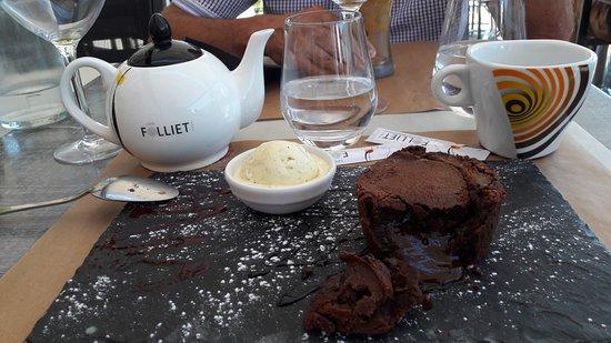 Viviers-du-Lac, France: fondant au chocolat