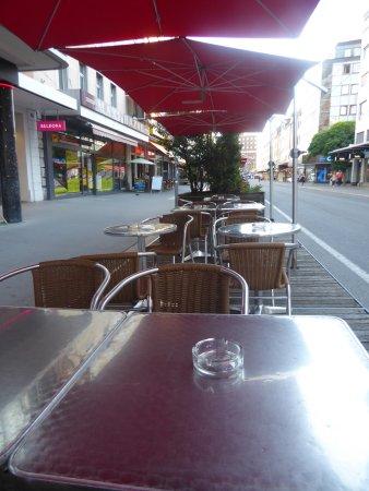 Biel, Switzerland: outdoor seating