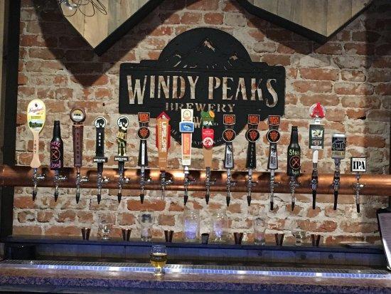 Wheatland, WY: Windy Peaks Brewery & Steakhouse
