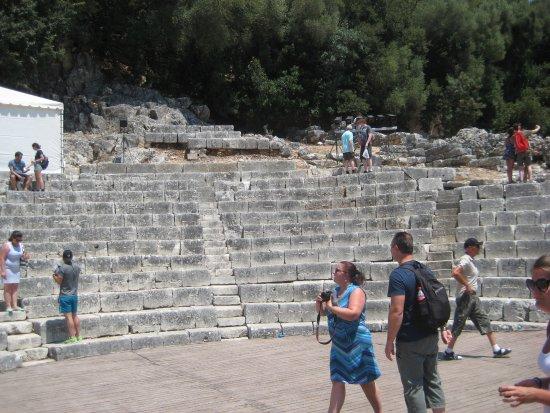 Butrint, แอลเบเนีย: Grieks theater