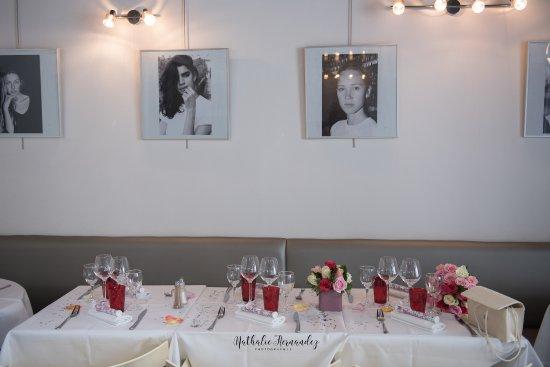 Décoration du Restaurant pour un mariage - Picture of Chez Renaud ...