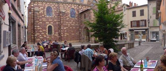 Le Basilic: la terrasse