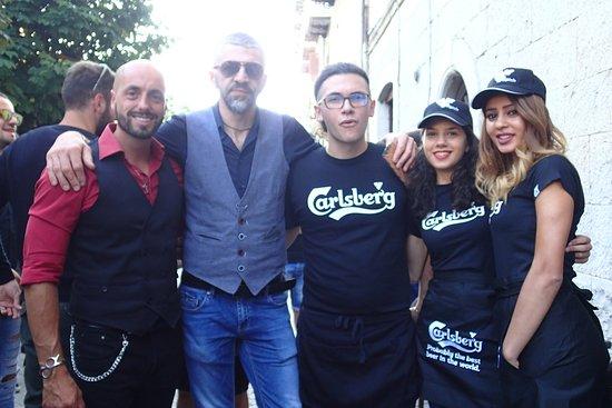 Molise, Italia: Catlino con i suoi collaboratori