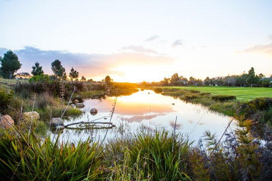 Paarl, Sudáfrica: Natural beauty surrounds the Pearl Valley golf course.