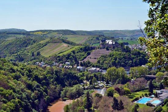 Bad Munster am Stein-Ebernburg, Alemania: Blick über das Nahetal