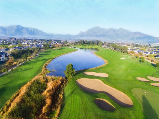 Paarl, Sudáfrica: View from above!