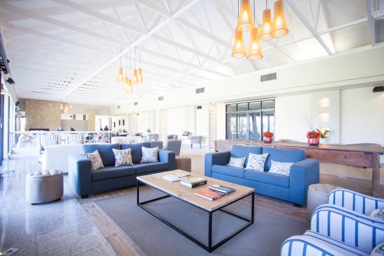 Paarl, South Africa: Interior of the clubhouse.