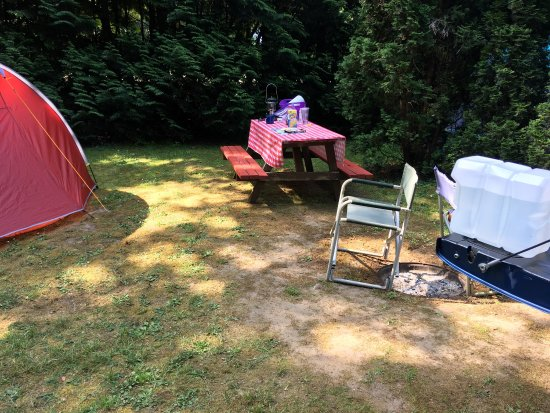 Sechelt, Canadá: Stayed in site 28