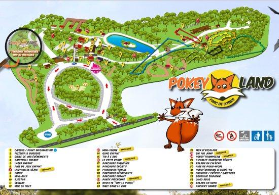 Fey, France : Plan du Parc 2017 !