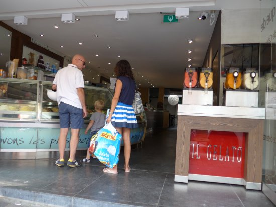 Uccle, Belgia: Brussels, Il Gelato