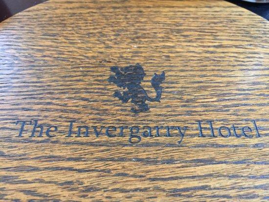 """Invergarry, UK: """"Platzdeckchen"""""""