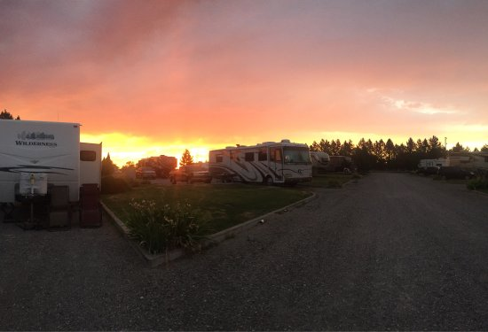 ‪‪Heyburn‬, ‪Idaho‬: Beautiful sunset and nice walking trail!‬