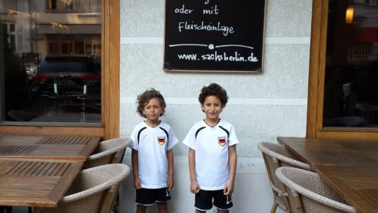 Hotel Vivaldi Berlin: Boys enjoying