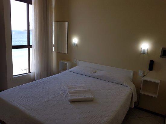 Palm Beach Apart Hotel: Quarto com vista para o mar!